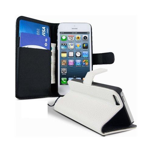 Lapinette Schutzhülle Flip Case für Apple iPhone 4/4S, Weiß