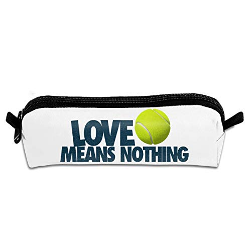 Kui Ju Pencil Bag Pen Case Love Means Nothing Cosmetic Pouch Students Stationery Bag Zipper Organizer -
