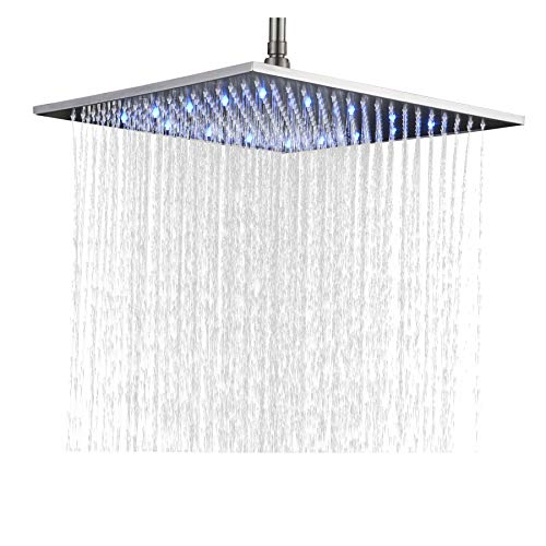 Rozin-Bathroom-Replacement-LED-Changing-Color-16-inch-Square-Rainfall-Shower-Head-Overhead-Sprayer-Brushed-Nickel