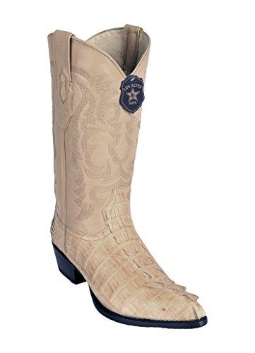 Western Caiman Toe J Oryx Los Leather Genuine Altos Men's Skin Boots Tail awzqBqxCf