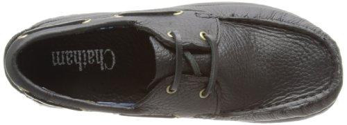 Chatham Marine Skipper Unisex-Kinder Bootschuhe Schwarz (Black)