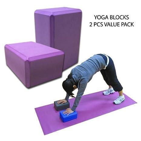 1pc Yoga Blocks Yoga bloques - de alta densidad de EVA ...