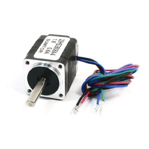 EbuyChX Nema 8 4 Wire 1.8 Degree CNC Stepping Stepper Motor 28mm 0.6A 2oz.in
