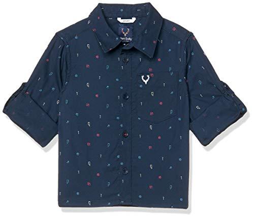 Allen Solly Junior Boy's Stretch Shirt