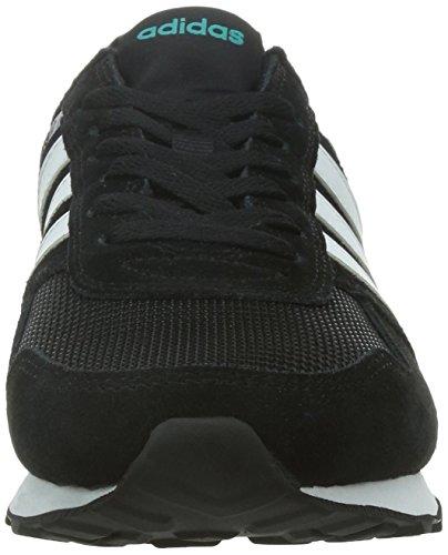 adidas 10K - Zapatillas deportivas unisex Multicolor (Negbas / Ftwbla / Eqtver)