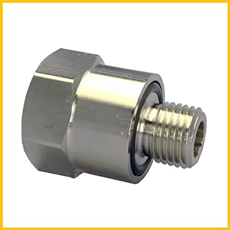 EZ-106 Silver 14mm-1.5 Thread Size Oil Drain Valve EZ