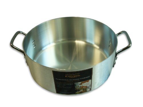 Alegacy Eagleware EWBR10 Professional Standard Weight Aluminum Brazier, 10-Quart