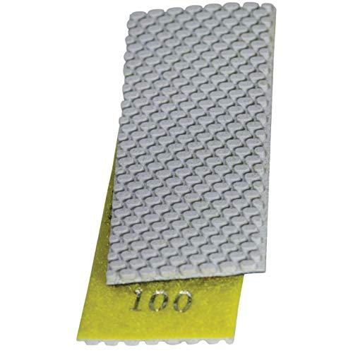 Stadea HPW110H Diamond Hand Polishing Pads Flexible for Concrete Glass Marble Stone Polishing, 7 Pads 1 Backing Pad Set by STADEA (Image #2)
