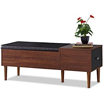 Amazon Com Baxton Furniture Studios Merrick Mid Century