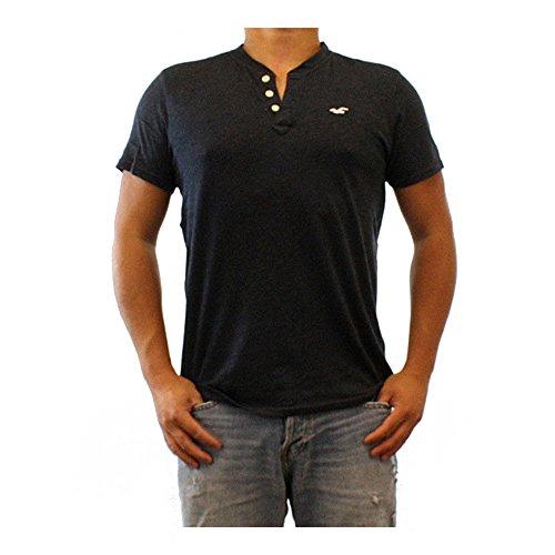 hollister-hco-logo-mens-short-sleeve-henley-button-t-shirt-l-hco-black-1-henley
