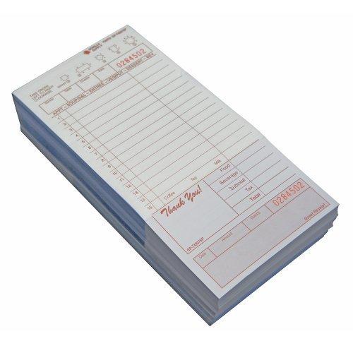 (2000) 2 Part Carbonless Tan Loose Guest Checks Restaurant, 8 of 250, (4.2W X 8.5L Bond/Board CASE) (Best Cs Go Server Provider)