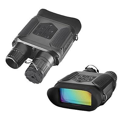 Night Vision Binoculars Hunting Binoculars-Digital Infrared Night Vision Hunting Binocular With Large Viewing Screen Can Take Day or Night IR 5mp Photo & 640p Video from 400m/1300ft …