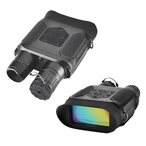 SOLOMARK Night Vision Binoculars Hunting Binoculars-Digital Infrared Night Vision Hunting Binocular with Large Viewing Screen Can Take Day or Night IR 5mp Photo & 640p Video from 400m/1300ft (NV400)