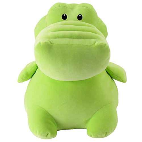 Animal Adventure - Animal Adventure Squeeze with Love | Green Alligator | Jumbo Over-Stuffed Squeezable Ultra-Soft Plush Toy