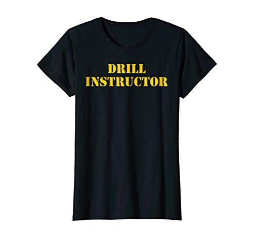 Womens Womens Drill Instructor Shirt Boot Camp -