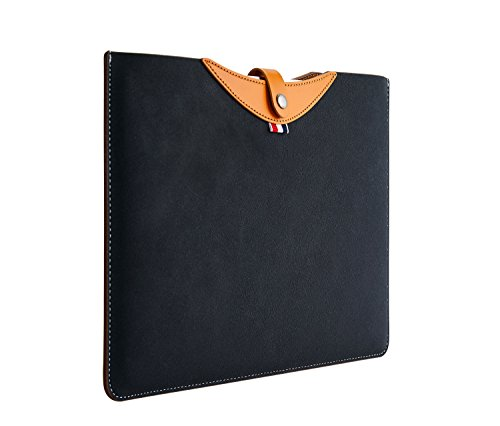 13.3 Inches Laptop Leather Sleeve Case Pouch Fit 13 MacBook Air A1369 A1466/ 13.9 Lenovo Yoga 920/ ASUS UX330UA UX490UA/ 2017 Pro B9440UA Protective Bag Waterproof Cover