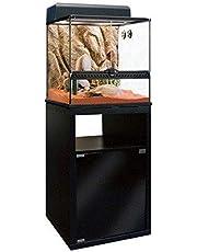 Exoterra Meuble pour Terrarium de 45 cm 1 Porte 45x45x70 cm pour Reptiles et Amphibiens