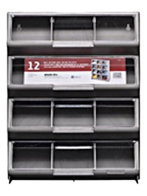 Price comparison product image Organizer 12bin Slvr Clear