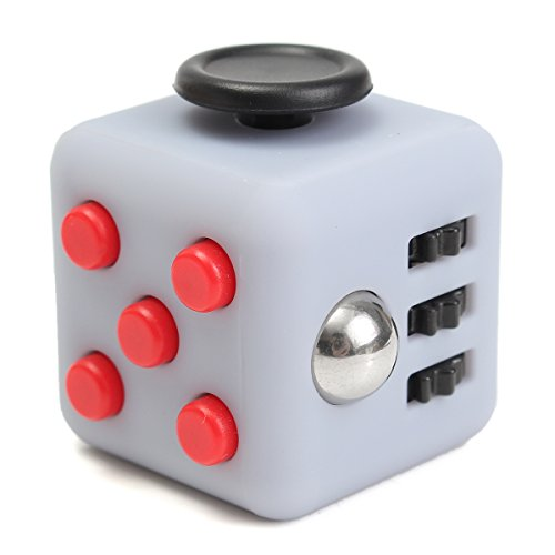 Fidget Cube Anxiety Stress Relief Focus Gift Adults Kids Attention Therapy # 01