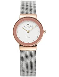 Skagen Women's 358SRSC Freja Stainless Steel Mesh Watch