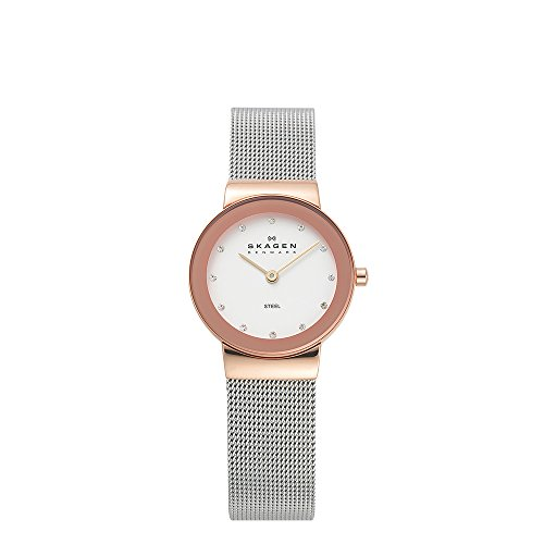 Mesh Womens Watch (Skagen Women's 358SRSC Freja Stainless Steel Mesh Watch)