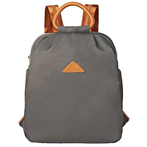 Women School Purse Resistant Backpacks Bag Lightweight 2 Water Women Ladies Black Fashion Travel Nylon Casual Backpack for FqUfwx6Pf