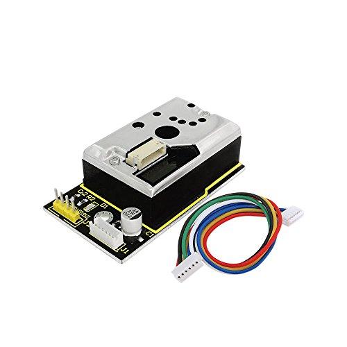 KEYESTUDIO Pm2.5 Sensor for Arduino Pm2.5 Air Particle Monitor for Arduino Mega 2560 Arduino Uno R3 Nano Micro Pro Mini Raspberry Pi by KEYESTUDIO (Image #2)