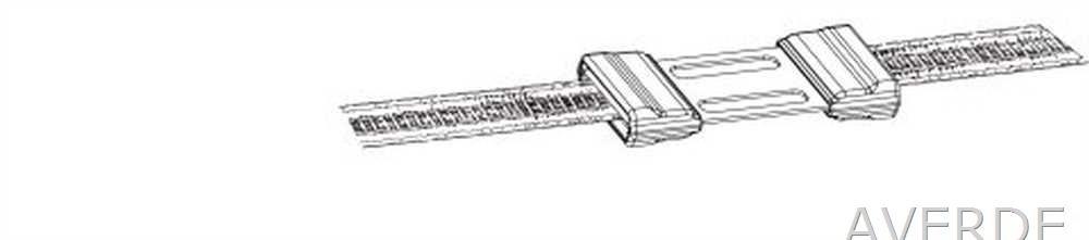 5 St/ück k442001//051 AKO Weidezaun Bandverbinder Litzclip 20mm Edelstahl
