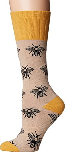 Socksmith Women's Bee Oatmeal One -