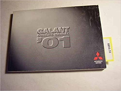 2001 mitsubishi galant owners manual mitsubishi amazon books fandeluxe Gallery