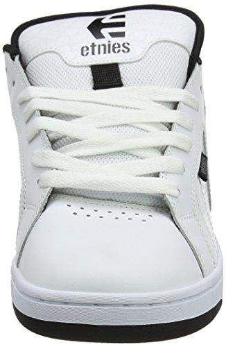 Etnies Men's Metal Mulisha Fader 2 Skateboarding Shoes White (White/Black/Grey) QwUFi6