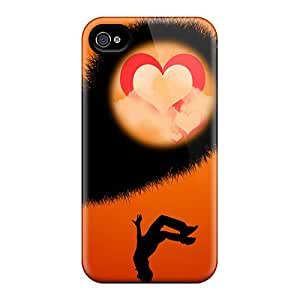 Top Quality Protection Fall In Love Case Cover For Iphone 4/4s