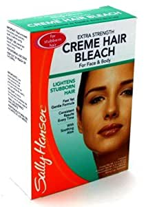 creme hair bleach for face instructions