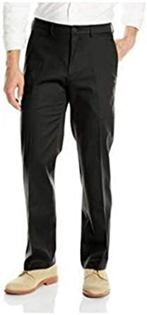 Haggar Men/'s In Motion Performance Straight Fit Stretch Pants           C-3