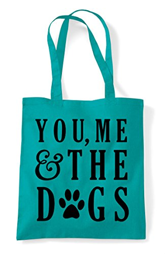 Me You Bag Tote Shopper Emerald And Dogs The Statement 14dnO6qp