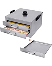 FERRISA Cantonese Rice Noodle Rolls Machine,Openable top lid Steamed Vermicelli Roll Steamer made with 430 stainless steel,Chinese Cheung Fun,Furnace Cooking Chinese Cuisine Recipes Cookware