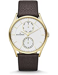 Men's SKW6066 Holst Dark Brown Leather Watch