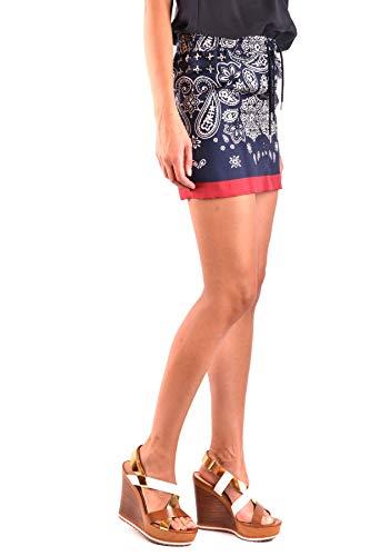 Falda Mujer Azul Seda Moncler Mcbi35533 wFxqCwHg