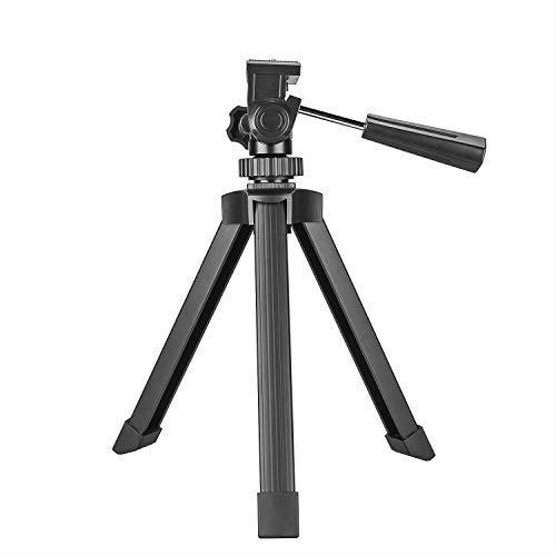 Ecurfu Aluminum Table Top Tripod, Adjustable Heavy Duty Tripods for Spotting Scopes Binoculars Telescope Monoculars DSLR Cameras and Other Device by Ecurfu