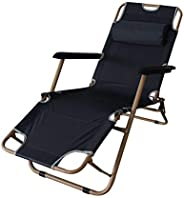 Lawn Chair - Multi-Function Portable Folding Lounge Chair, Adjustable Height, Easy to Operate, Suitable for Pi