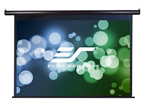 Elite Screens 135'' Diagonal -CLEARANCE- VMAX Series, Electric Projection Screen, 4:3 Aspect Ratio -VMAX135UWV-Black Case-, 30-Day Warranty (parts) by Elite Screens