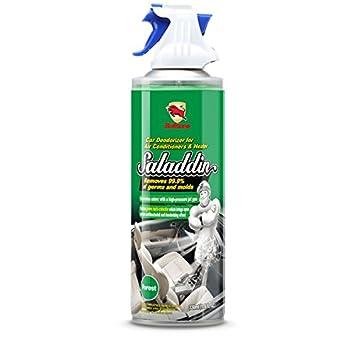 Bullsone Saladdin coche Desodorizador Spray para a/c sistema [bosques] - Mata 99,9% de los gérmenes y bacterias.: Amazon.es: Coche y moto