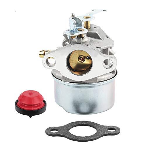 Carburetor with Primer Bulb for MTD Snowblower Toro CCR 1000 Tecumseh 632552 640086 640086A 632641 3HP 2 Cycle Engine Carb Parts Kit Snow Blower -  Kizut, 640086 632641 632552