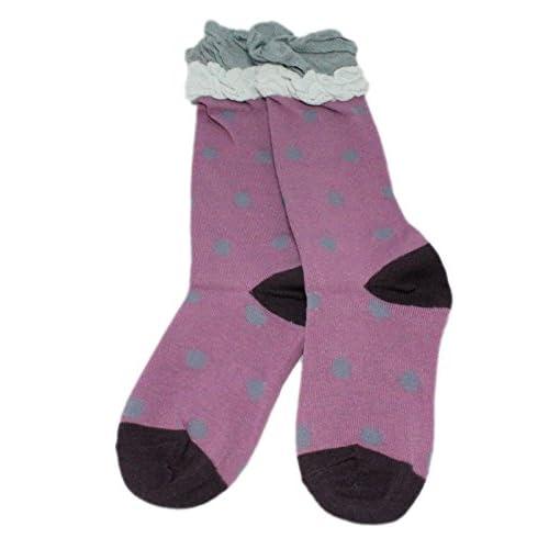 823c8be4f26f Buena Colourful Baby World - Calcetines hasta la rodilla - para niña ...