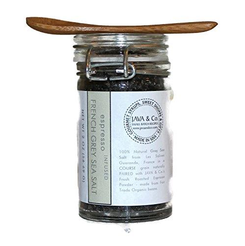 (Espresso Finishing Sea Salt, French Grey, Course Grain by JAVA & Co.)