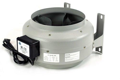 Tjernlund M 10 In Line Duct Booster Fan 810 Cfm 10