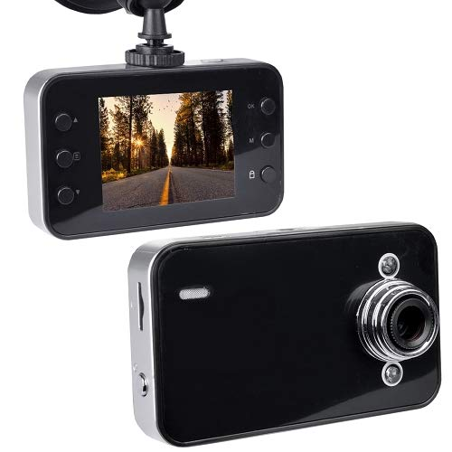 - Automotive 720p HD Dashcam w/Night Vision 2.4