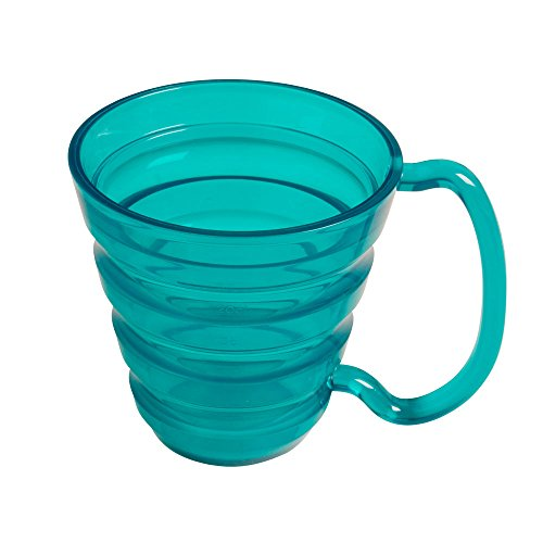 Maddak Translucent Blue Ergo Mug, 9.5-Ounces (745740000) (745740000)