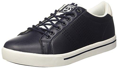 Sergio Tacchini Herren Halley Ltx Sneaker Blau (bleu Marine / Blanc 02)