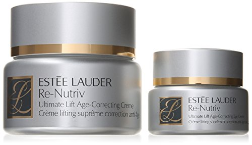 Estee Lauder 2 Piece Re-Nutriv Ultimate Lift Age-Correcting Face and Eye Set for Unisex